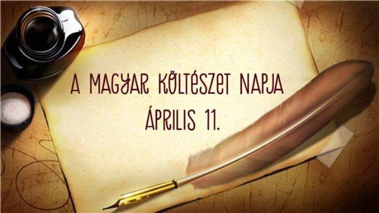 Költészet napja 2017.04.11.