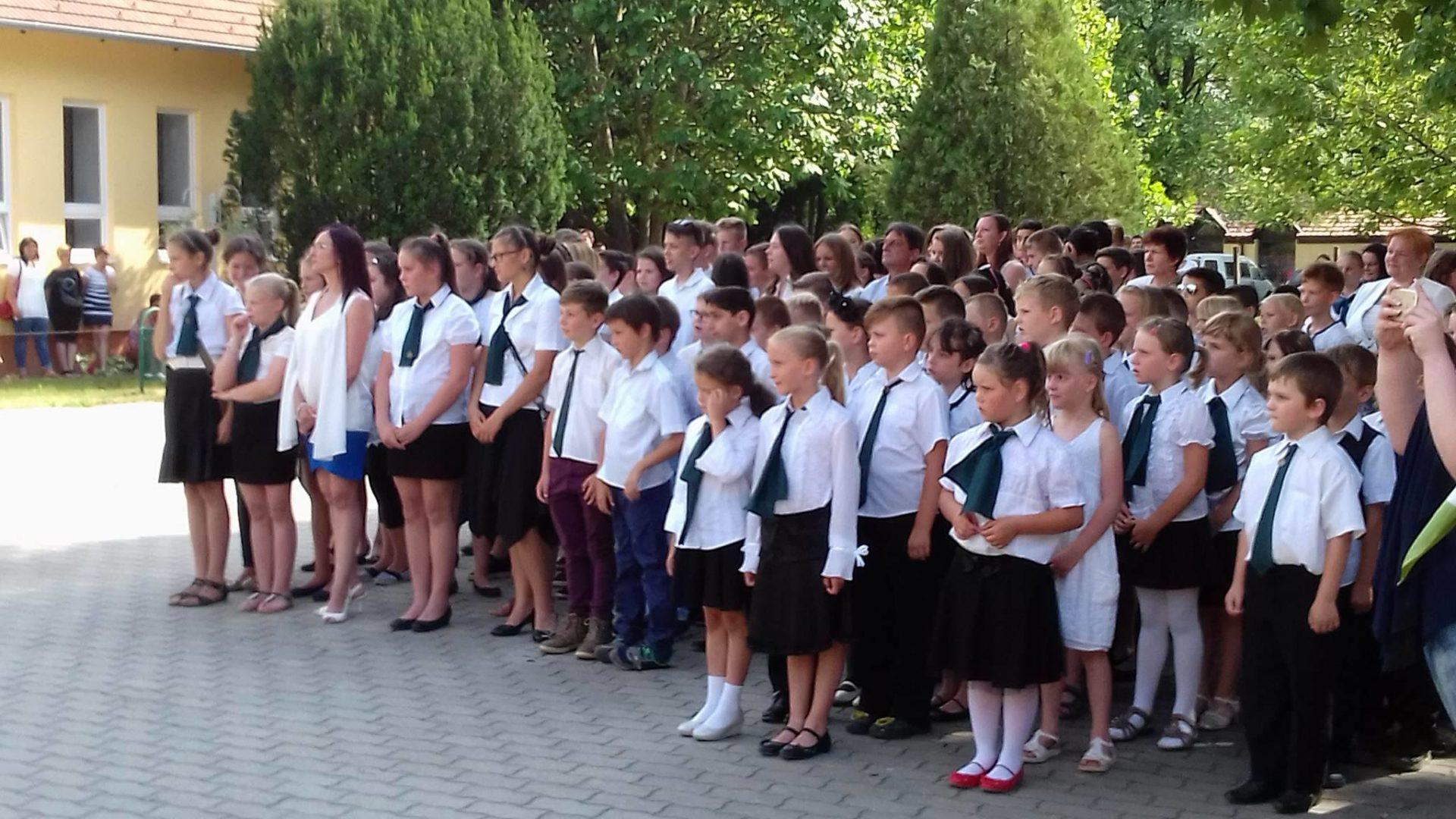 Tanévzáró ünnepély 2017.06.23.