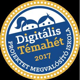 Digitális témahét 2017 04.03.-04.07.